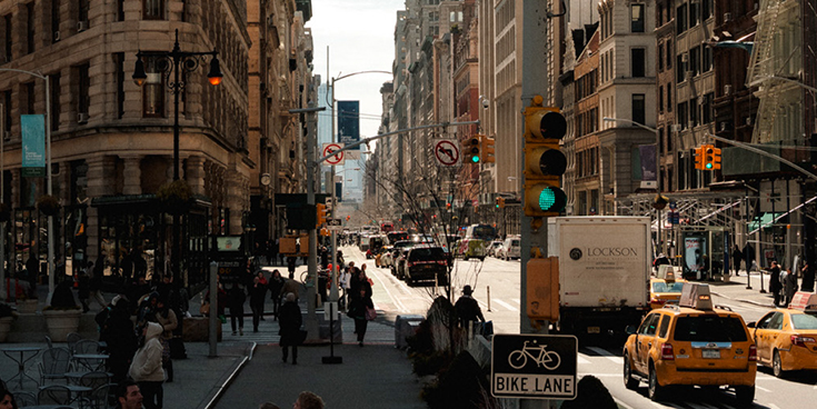 Photo of NYC streets