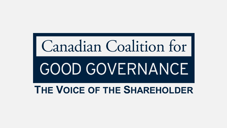 Canadian Coalition for Good Governance logo